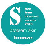 Chuckling Goat free from skincare awards